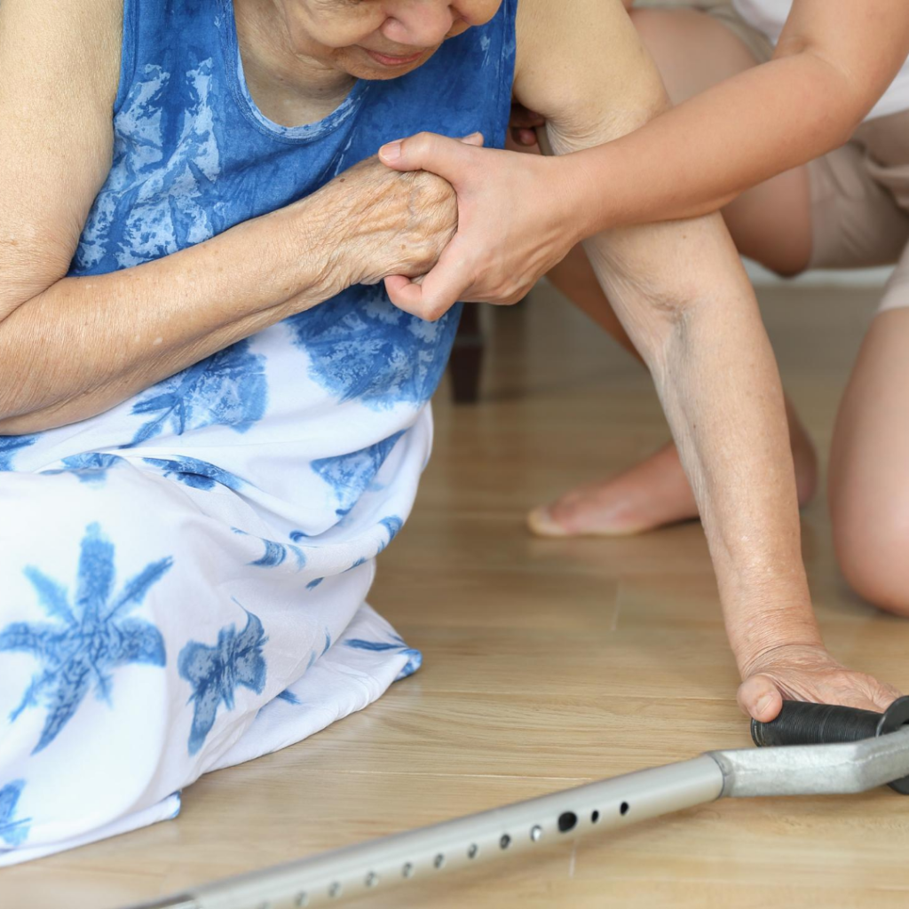 GPs and physiotherapists are well positioned in the community to complete multi-factorial, multidisciplinary assessments to assess a person's risk of falls